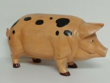 Huge Antique Pig Piggy Bank - Door Stop - Garden - Cast Iron