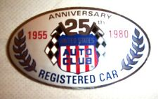 1980 Indianapolis Motor Speedway USAC Registered Decal / Vintage Racing Indy 500