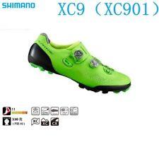 Shimano SH-XC901 S-Phyre Carbon Fiber MTB Cycling Shoes xc901 (Green)
