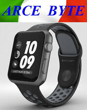APPLE WATCH 38mm * SERIE 2 NIKE + * FATTURABILE * WATER RESISTENT - SPACE GRAY