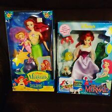 Vintage Ariel and Her Friends The Little Mermaid Tyco Disney Doll Barbie NEW NIB