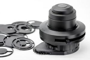 Olympus microscope CH-2 condenser darkfield polarizing oblique insert set