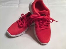 Nike Boys 4.5, Orangeish red, worn once, 1307