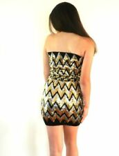 Bodycon Short Dresses for Women with Sequins