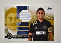 2020 MLS Jumbo Relic Gold #JR-AB Alejandro Bedoya /50 - Philadelphia Union
