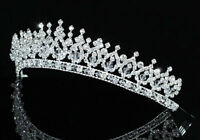 Bridal Wedding Pageant Sparkling Handmade Tiara use Austrian Crystal CT1543