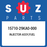 15710-29KA0-000 Suzuki Injector assy,fuel 1571029KA0000, New Genuine OEM Part