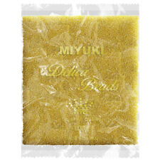 Miyuki Delicas Wholesale Seed Beads 11/0 Sparkling Lined Topaz 100g (P95/5)