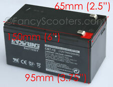 ENDURING BATTERY CB7-12 12V7AH/20AH FOR RAZOR SCOOTERS GREAT QUALITY