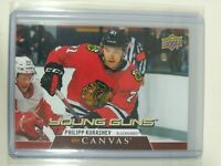 2020-21 Upper Deck Series 1 Philipp Kurashev Young Guns Canvas #C115 Blackhawks