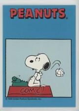 1992 ProSports Peanuts Classics #43 How do you Write your Own Brother Card 0w6