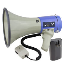 25W Professional Megaphone W/ Rechargeable Battery, USB & MP3 Player