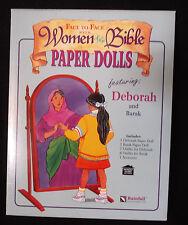 Face to Face Women of the Bible Paper Dolls Deborah & Barak UEC