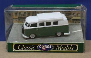 Corgi Classics 97040 Volkswagen Camper 1:43 Green Mint Boxed 1991