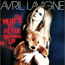 AVRIL LAVIGNE - HERE'S TO NEVER GROWING UP SINGLE KOREA EDITION SEALED