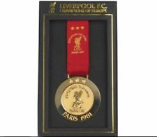 LIVERPOOL UEFA CHAMPIONS LEAGUE 'CHAMPIONS OF EUROPE' PARIS 1981 BOXED MEDAL