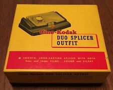 "Rare Vintage ""Cine-Kodak"" 8mm Duo Splicer Outfit, Great Condition, Original Box"