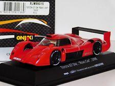 TOYOTA GT ONE GT1 ROAD CAR RED 1998 ONYX XLM99015 1:43
