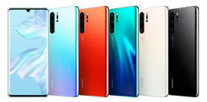 Huawei P30 lite P30 P30 Pro 128GB Mobile Smartphone Black Unlocked GRADED