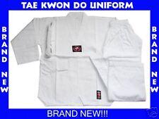 BRAND NEW!! WHITE TAE KWON DO TAEKWONDO UNIFORM SIZE 6