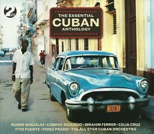THE ESSENTIAL CUBAN ANTHOLOGY - 2 CD BOX SET - IBRAHIM FERRER & MANY MORE