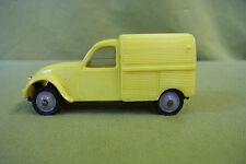 Hartplastik - Norev - Citroen 2 CV - 1/43 - gelb - Modell Nr. 26