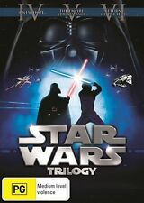 Star Wars Trilogy - A New Hope / Empire Strikes Back / Return Of The Jedi (DVD, 2013, 3-Disc Set)