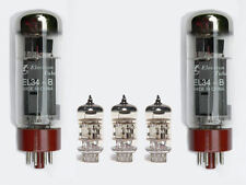 EL34/12AX7/ECC83 Valve kit for 40W Marshall guitar amplifier MH40C