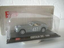 miniature 1/43  CISITALIA 202 -1950  collection 1000 MIGLIA