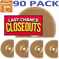FEIN 6-35-02-170-02-0 Tile Grout Removal Oscillating Saw Blade (90 ITEMS)