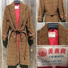 Vintage Smoking Jacket Robe THE BEAUTY M Rockabilly Western Asian