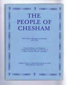 The People of Chesham (Buckinghamshire) : Their Births, Marriages and Deaths 163