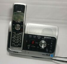 VTech DECT 6.0 Cordless Phone Model L 6032 Digital Answering System + Handset