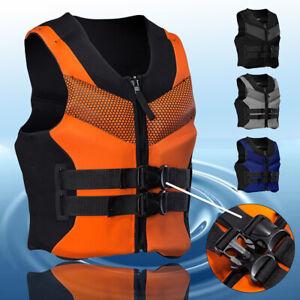 Buoyancy Aid Flotation Vest Adults Life Jackets Ski Swim Kayka Sailing Boating