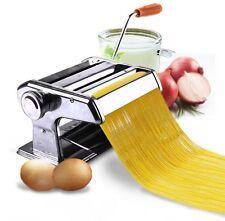 "6"" Pasta Maker Machine Fresh Noodle Dough Ravioli Spaghetti Stainless Steel"