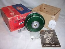 VINTAGE SHAKESPEARE OK AUTOMATIC 1821 GD AUTOMATIC FLY FISHING REEL 3/10/17 #2