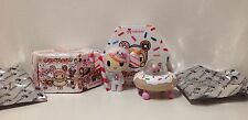 Lot of 2 Tokidoki Donutella and Her Sweet Friends Mini Vinyl Figures