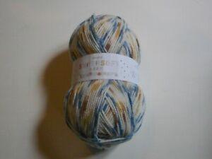 Sirdar Snuggly Supersoft Aran Rainbow Drops 100g Ball Acrylic Baby Knitting Yarn