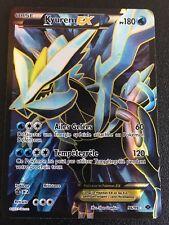 Carte Pokemon KYUREM 96/99 Holo EX Full Art Noir et Blanc Française NEUF