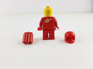 Lego® Weltraum Classic Space Figur rot mit Helm und Airtank sp005