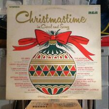 Christmastime In Carol And Song vinyl LP album - Vic Damone - Ed Ames - Al Hirt
