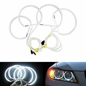 Canbus CCFL Angel Eyes Halo Ring Light For BMW E46 Coupe Convertible Sedan 1999+