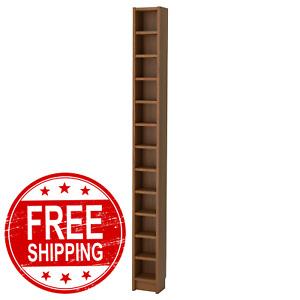 Ikea Gnedby Furniture Bookcase, Shelf Unit, Bookshelf,Shelves, Brown Ash Veneer