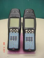 LOT OF 2 LXE MX1 HANDHELD SCANNER COMPUTER MODEL# 480628-4096 LXTREME AS-IS