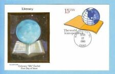 Colorano UX146 The World Is An Open Book Literacy Gloge Planet Earth Cover