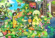 Pokemon Card Bundles 50 Grass Types - RARE / Rev Holo Guaranteed Joblot