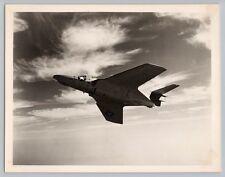 1950's GRUMMAN F9F-8 COUGAR F-9 JET FIGHTER Vintage OFFICIAL US NAVY Photo