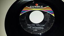 """THE INTRUDERS Tender / By The Time I Get To Phoenix GAMBLE 4001 SOUL 45 7"""""""