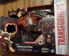 Transformers: The Last Knight Mega 1-Step Turbo Changer Dragonstorm Figure NIB