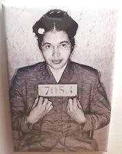 "Rosa Parks Mugshot Magnet 2"" x 3"" Refrigerator Locker Mug Shot"
